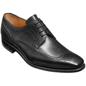Barker Men's Larry Leather Brogue Shoes 4331/17 - British Shoe Company