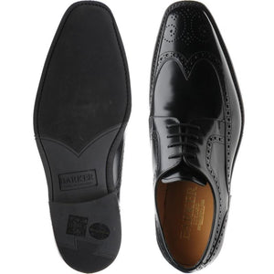 Barker Men's Larry Leather Brogue Shoes 4331/99 - British Shoe Company