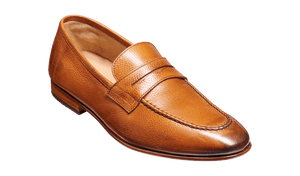 Barker Men's Ledley Leather Slip-On Shoes 4354/27 - British Shoe Company