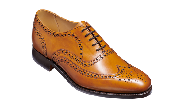 Barker Malton (G, Leather Sole)-Cedar Calf-British Shoe Company