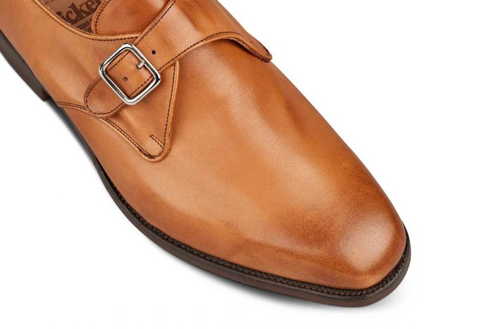 Tricker's Men's Mayfair Leather Monk Shoes 6141/1