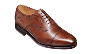 Barker Men's Mirfield Leather Brogue Shoes 4416/37 - British Shoe Company