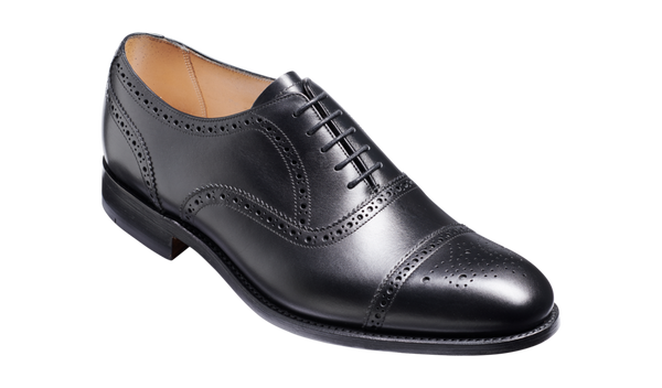 Barker Mirfield (F)-Black Calf-Leather-British Shoe Company