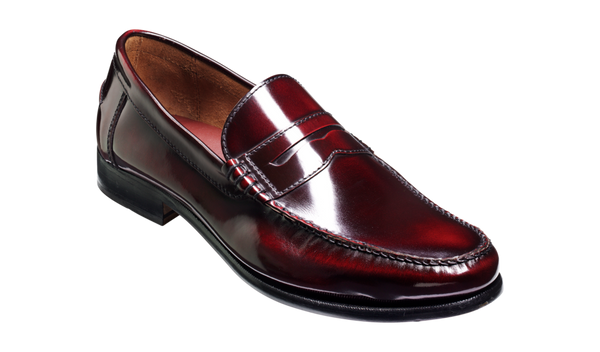 Barker Newington-Burgundy-British Shoe Company