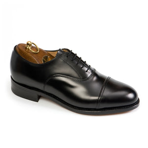 Sanders Oxford-Black-British Shoe Company