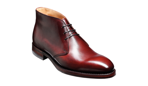 Barker Orkney-Cherry Grain-British Shoe Company