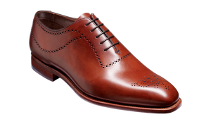 Barker Plymouth-Chestnut Calf-British Shoe Company