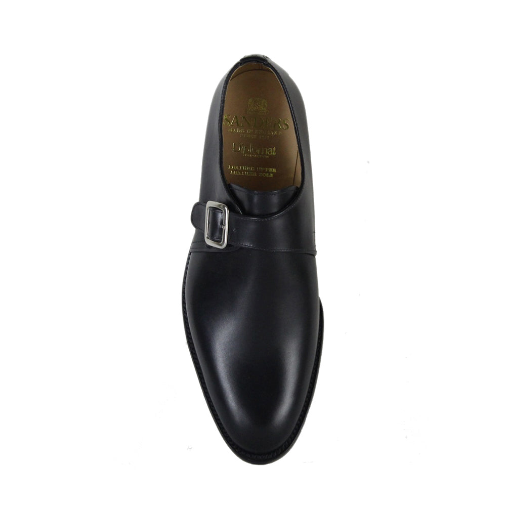 Sanders Rome-Black-British Shoe Company