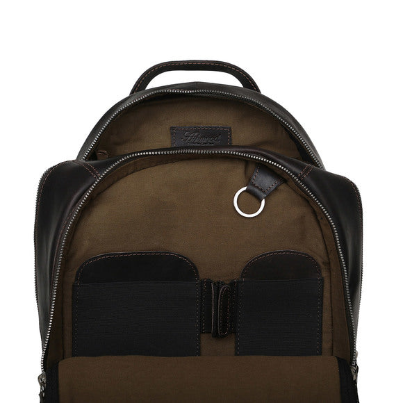 Ashwood 1663 Leather Backpack Brown