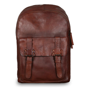 Ashwood 7999 Leather Backpack Tan