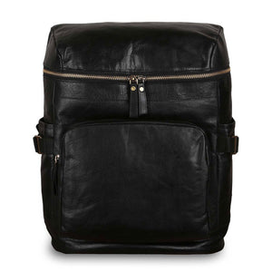 Ashwood G-35 Leather Backpack Black