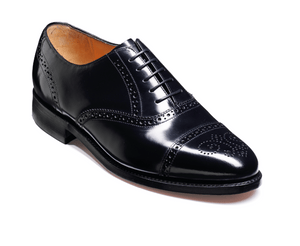 Barker Men's Alfred Leather Brogue shoes 6643/37 - British Shoe Company