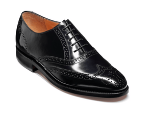 Barker Men's Albert Leather Brogue Shoes 6642/37 - British Shoe Company