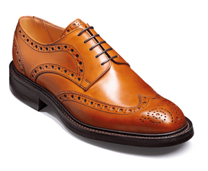 Barker Men's Grassington Leather Brogue Shoes 3421/26 - British Shoe Company