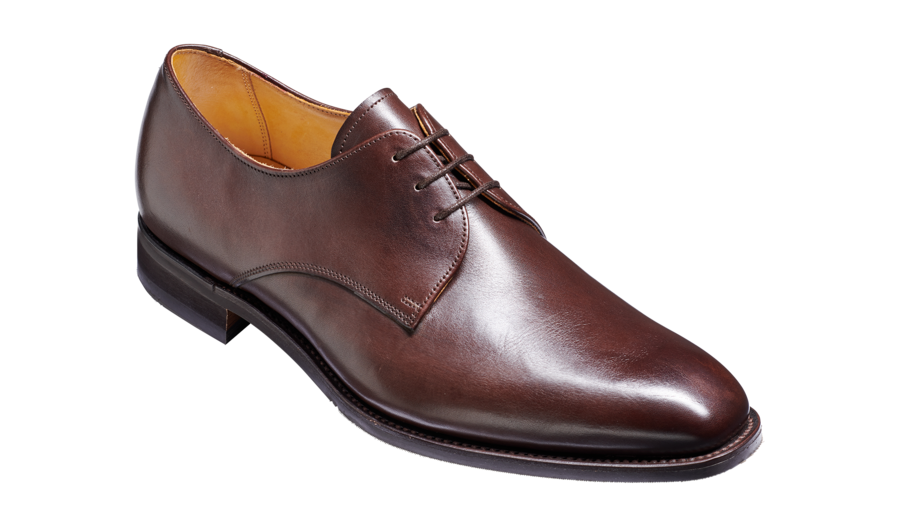 Barker St. Austell-Dark Walnut Calf-British Shoe Company
