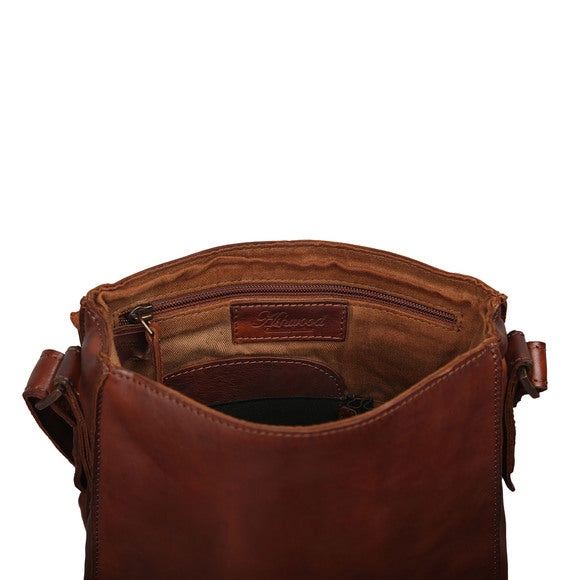 Ashwood 7995 Leather Shoulder Bag Tan