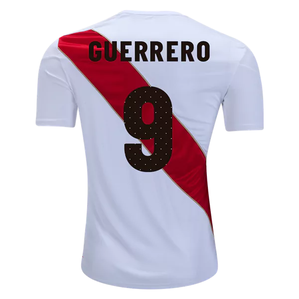 8364736a61f Peru 2018 Home Paolo Guerrero  9 Jersey on SALE for only  39.99 ...