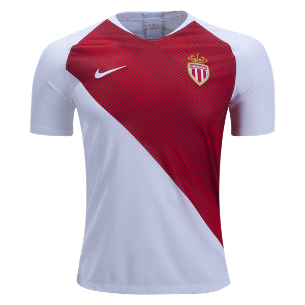 As Monaco 18 19 Home Custom Jersey On Sale For 39 99 Soccer Jersey Emporium