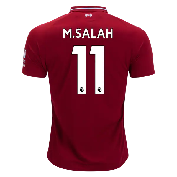 huge selection of 4a238 774f2 Liverpool 18/19 Home Jersey Mohamed Salah #11