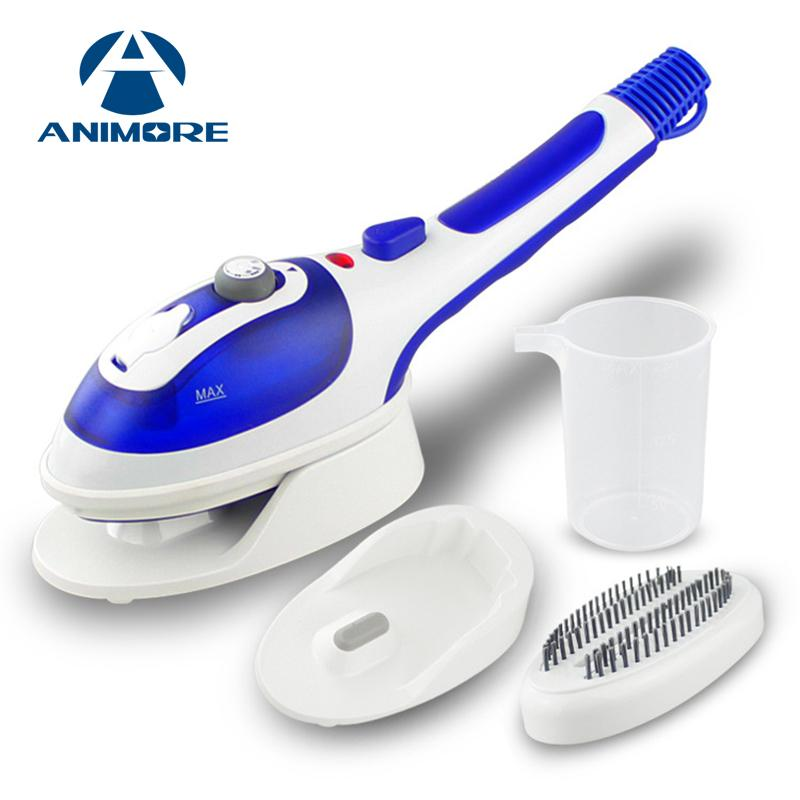 ANIMORE Handheld Garment Steamer Portable Home and Travel Fabric Steamer Fast Heat Up Removable Water Tank Steam Iron GS-01 - EM