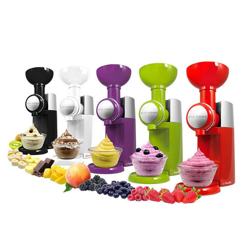 Big Boss Swirlio Frozen Fruit Dessert Maker Fruit Ice Cream Machine Or Electric Ice Cream Maker 110V-240V, EU Or US Plug - EM