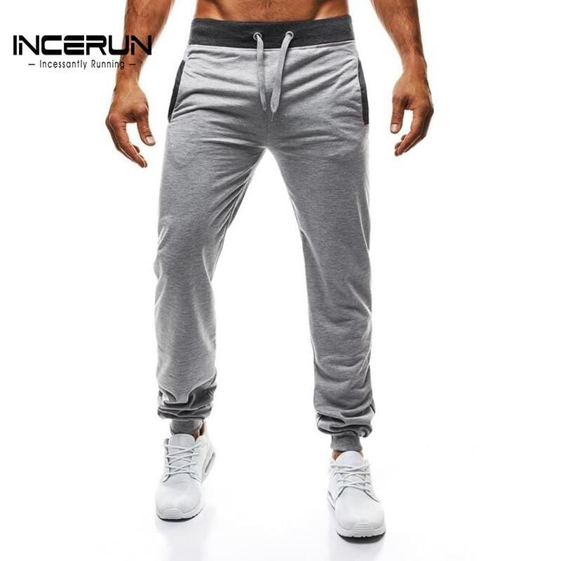 2018 Autumn Spring Men's Sweatpants Casual Slim Fit Harem Workout Pants Long Trousers Joggers Men Sportswear Slacks High Quality - EM