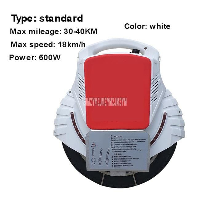 500W/1000W Self Balancing Single Wheel Scooter Adult/Children One Wheel Electric Scooter Built-in Bluetooth Speaker 60V Battery - EM