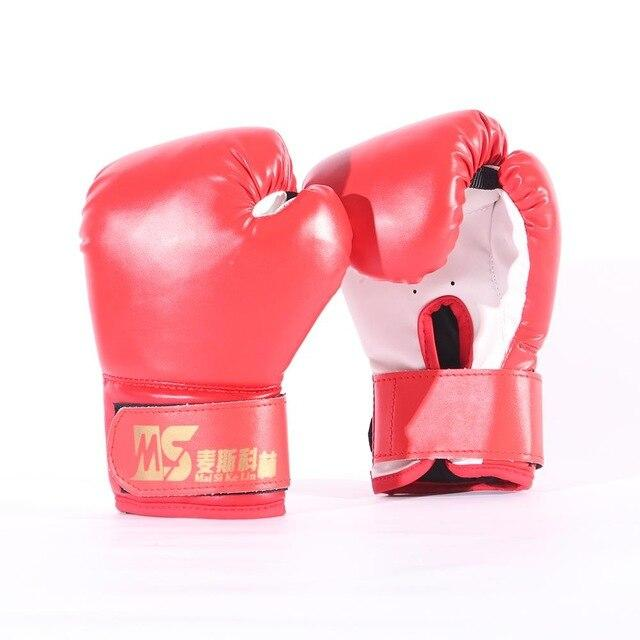 Boxing Gloves for Kids Children Boxing Gloves Muay Thai Boxing Gloves Free Fight Training Adults Kids Equipment Supplies