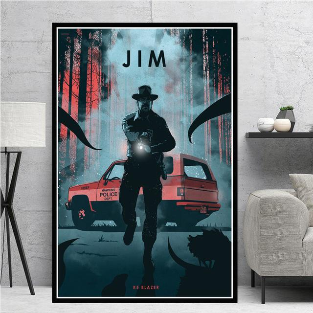 Blade Runner Movie Car Legends Canvas Painting Posters And Prints Wall Art Picture Vintage Poster Decorative Home Decor Tableau