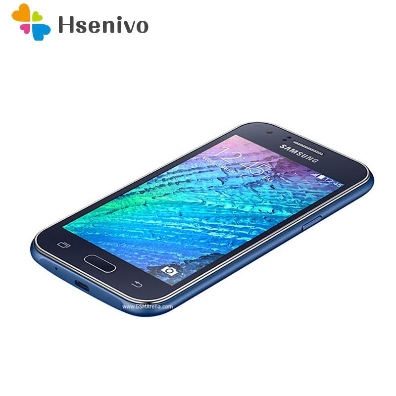 "Samsung Galaxy J1 J120 cell phone Android 4GB ROM Wifi GPS Quad Core 4.3"" touch screen mobile phone - EM"
