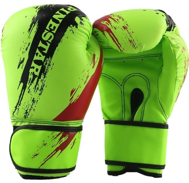Professional Children Boxing Gloves 6oz Kids Free Combat Muay Thai Glove Kids Boxing Gloves for 5-14 Years Boys Girls Red Blue