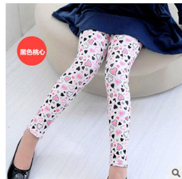 New Style Spring Autumn Children Leggings Flower Butterfly girls pants kids legging