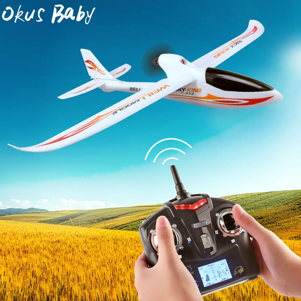2019 Brand New 2.4G 3Ch RC Airplane Fixed Wing Plane Outdoor toys Drone For Gifts - Express Monde