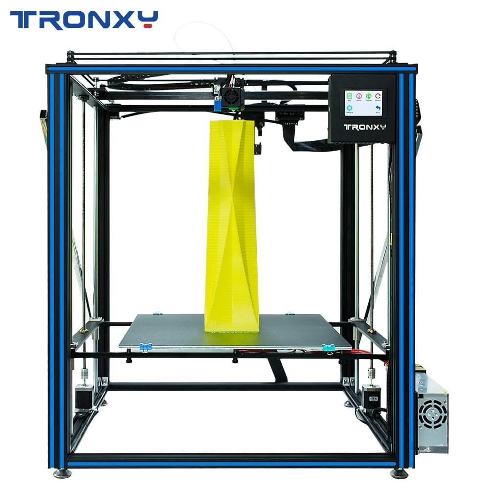 Tronxy 3D Printer X5SA-500 PRO Upgraded FDM Linear Guide Rail Large Size Ultra-quiet 500*500mm Printing Auto Leveling 3D Drucker - EM