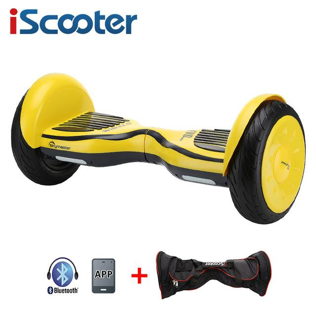 iScooter Hoverbaord battery Electric self balancing Scooter for Adult Kids skateboard 10 wheels 700w Hoverboard - EM