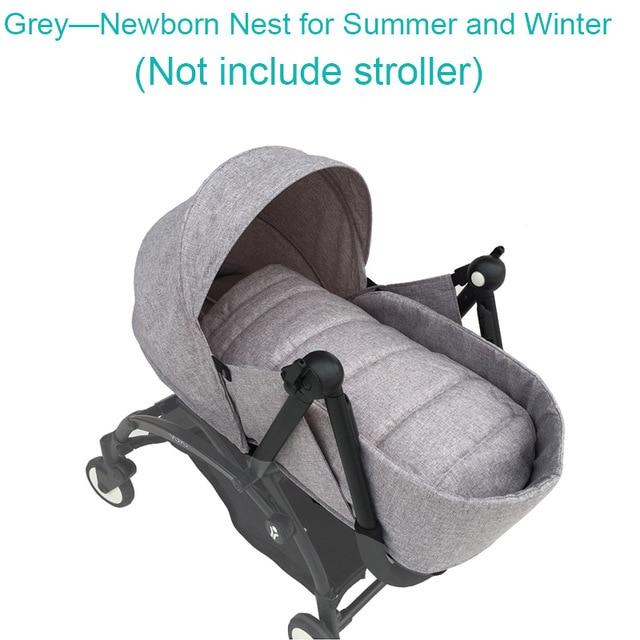 Baby stroller accessories newborn pack sleeping basket for Babyzen yoyo yoya stroller newborn nest summer version - EM