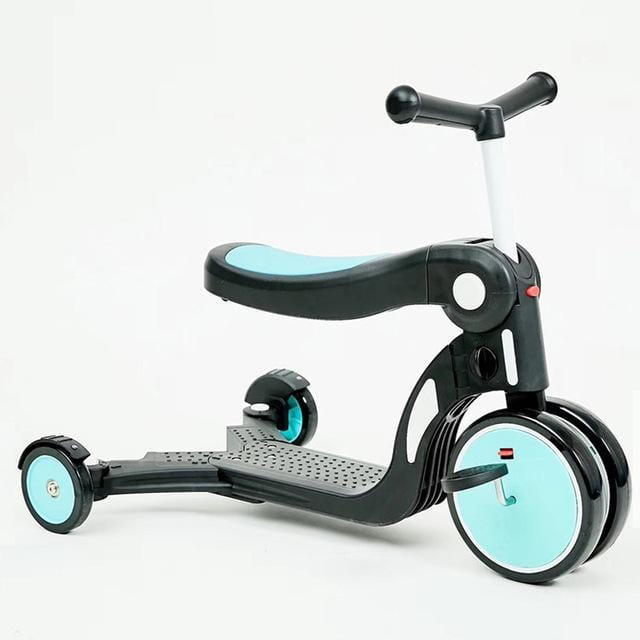 5 in 1 Children Scooter Kickboard Child Tricycle Balance bike Ride On Toy Boy Girl Toddler Scooter Adjustable  For 1~6 Ages - EM