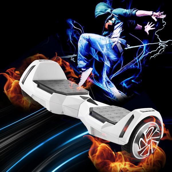 US Plug Electric Scooter 6.5inch 2-Wheel Self Balance Scooter Max Load 130kg Balancing Scooter Smart Control Drifting Hoverboard - EM
