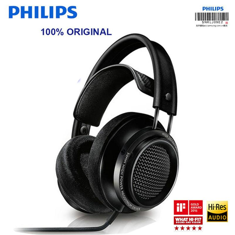 Philips Fidelio X2HR Headsets Voted Best Product In 2015 With 50 Mm High-power Drive 3mm For xiaomi Samsung Huawei - EM