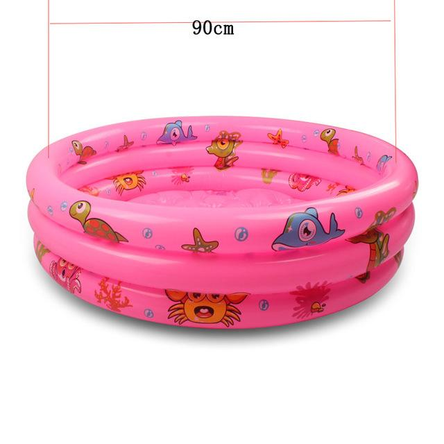 Rainbow Baby Inflatable Round Swimming Pool for 0-3 Years Old PVC Float  Accessories Kids Pscina Para Piscine Gonflable Alberca