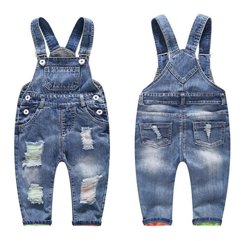 1-4T Kids Jeans Children Jeans Boys Pants Denim Trousers Children Jeans Overalls Pants for Kids Clothes Casual Girls Jeans - EM