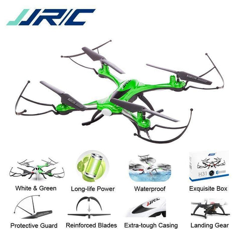 JJR/C JJRC H31 Waterproof Anti-crash 2.4G 4CH 6Axis Quadcopter Headless Mode LED RC Drone Toy Super Combo RTF VS H37 Syma X5C - Express Monde