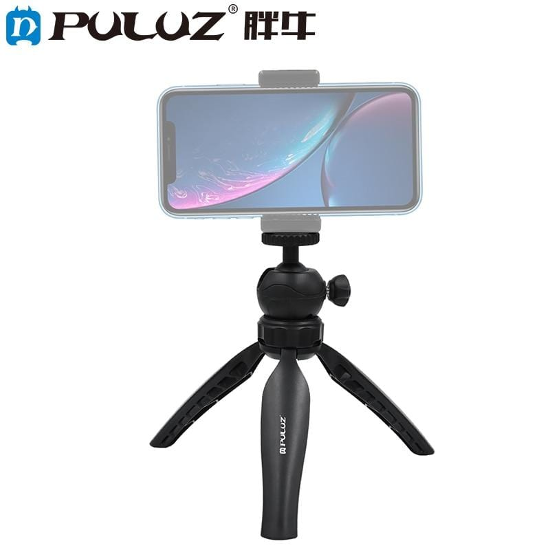 PULUZ 20cm Mini Portable Tripod With 360 Degree Ball Head For Smartphone / GoPro / DSLR Camera Tripe Trepied Appareil Photo - EM