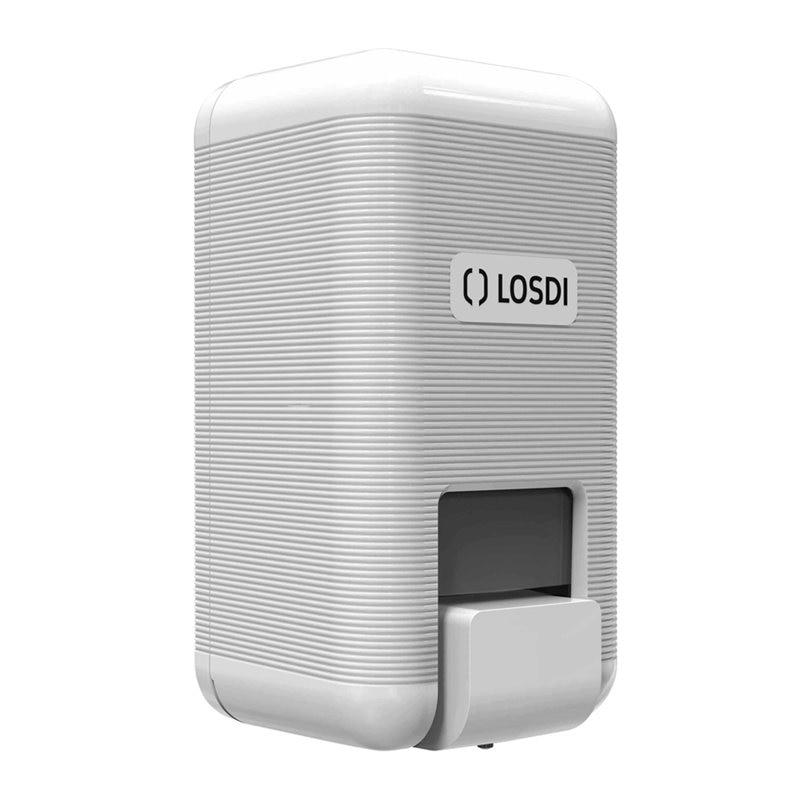 DISPENSER BANO SOAP 210X112X105MM ABS BL ECO LUXE LOSDI 1 - EM