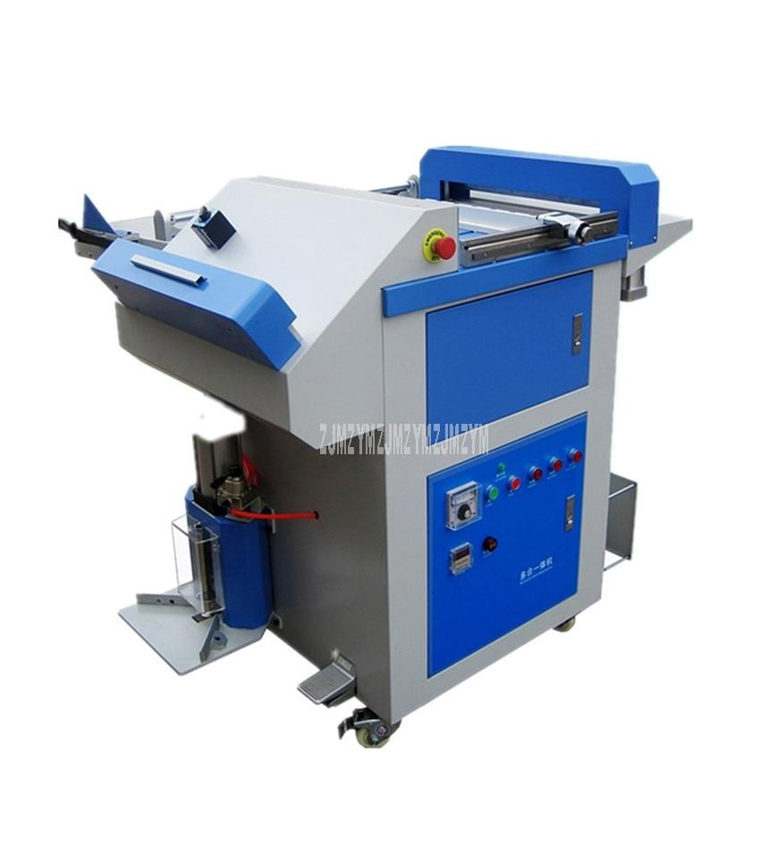 9 in 1 Multi-functional Album Menu Making Machine Creasing Trimming Hot/Cold Pressing Corner Rounding Binding Machine LHY-A - EM