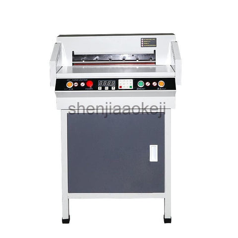 110v/220v 450VS+  Automatic CNC Electric Cutter Paper cutting machine paper trimmer 4CM Thick Paper Paper cut machine - EM