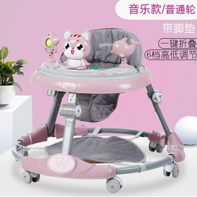 Baby walker multi-function  rollover boy baby girl small child starter learn to drive - EM