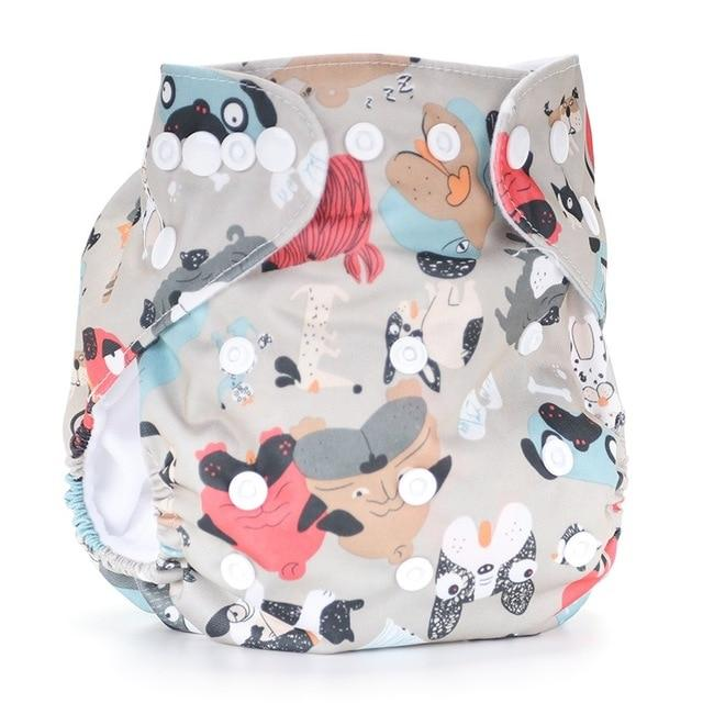 New Unicorn Reusable Diapers Baby Cloth Diaper Washable  Baby Nappy Washable Nappies - EM