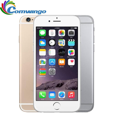 Unlocked Apple iPhone 6 Cell Phones 1GB RAM 16/64/128GB ROM 4.7'IPS GSM WCDMA 4G LTE mobile phone  iPhone6 Used Mobile Phone