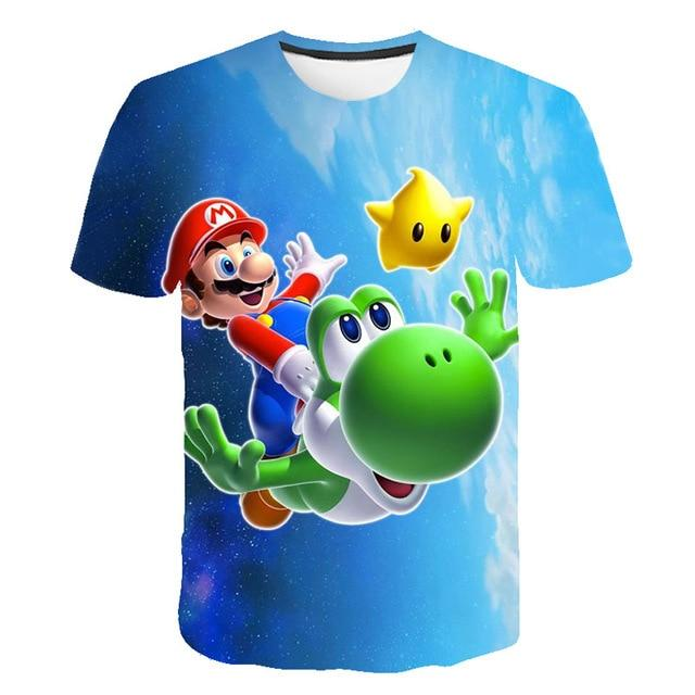 Baby Clothing children t shirts sonic the hedgehog Print Kids Baby Boy Tops Short Sleeve T-Shirt Summer Tee 2020 new